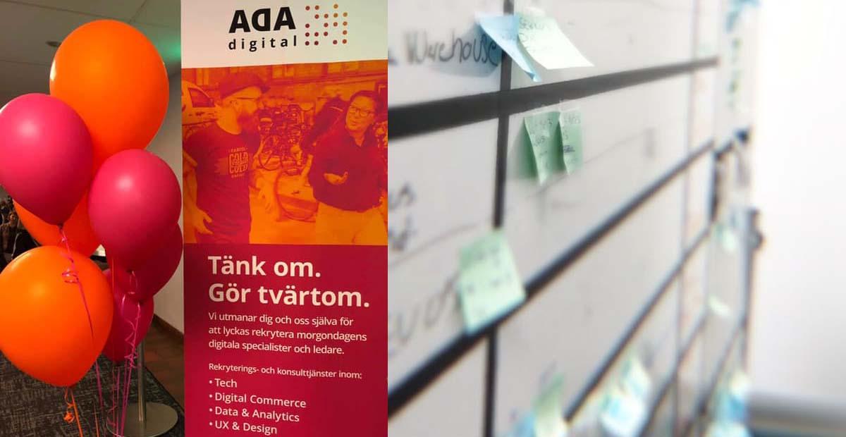 """""""Vad innebär digital kompetens för dig?"""" Möt teamet bakom Ada Digital!"""