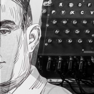 Månadens Ada på Ada Digital – kodnäckaren och pionjären Alan Turing