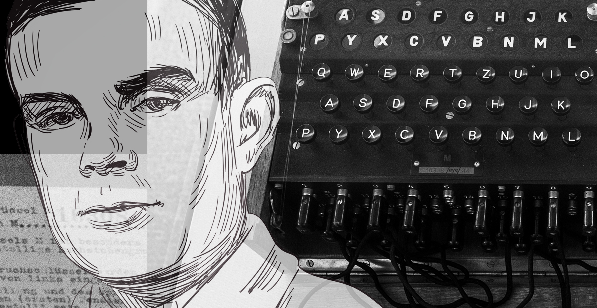 Månadens Ada: Kodknäckaren och pionjären Alan Turing
