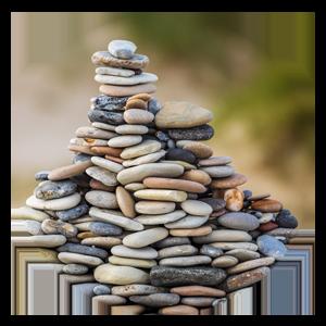 Hög med stenar. Ada Digital menar att du behöver väda på nya stenar när du ska rekrytera digital kompetens